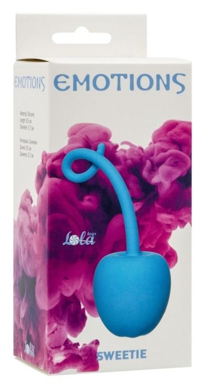 Стимулятор со смещенным центром тяжести Emotions Sweetie turquoise 4004-03Lola - фото 189957