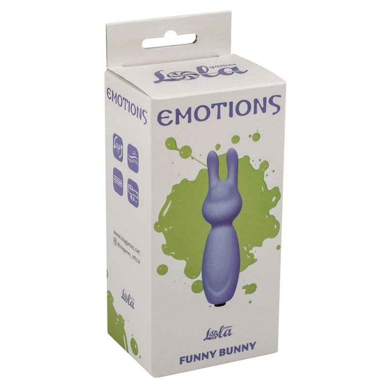 Мини вибратор Emotions Funny Bunny Lavender 4007-03Lola - фото 192791