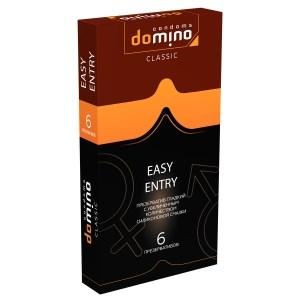 Презервативы Domino Easy Entry гладкие 6 шт