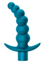 Анальная пробка с вибрацией Spice it up Ecstasy Aquamarine